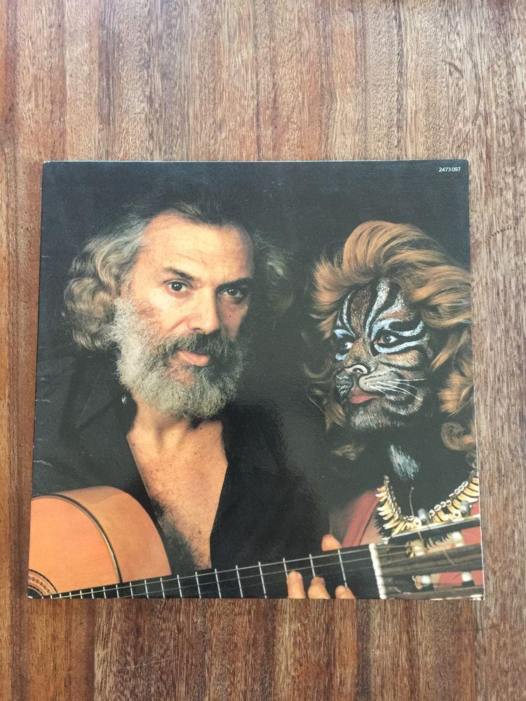Vinyle 33 tours Georges Moustaki    Si je pouvais t 5 Saleilles (66)