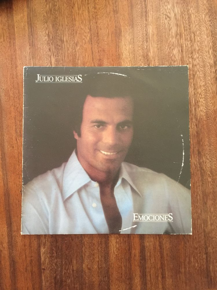 Vinyle 33 tours Julio Iglesias   Emociones   5 Saleilles (66)