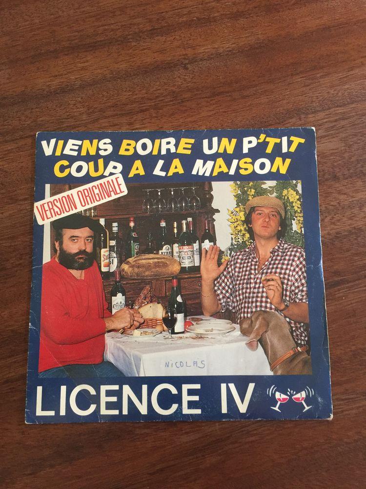 Vinyle 45 tours Licence IV   Viens boire un p'tit c 3 Saleilles (66)