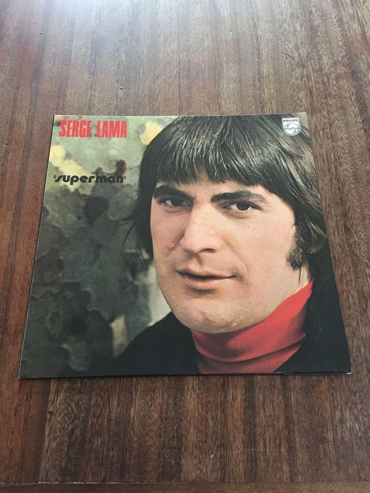 Vinyle 33 tours Serge Lama   Superman   10 Saleilles (66)