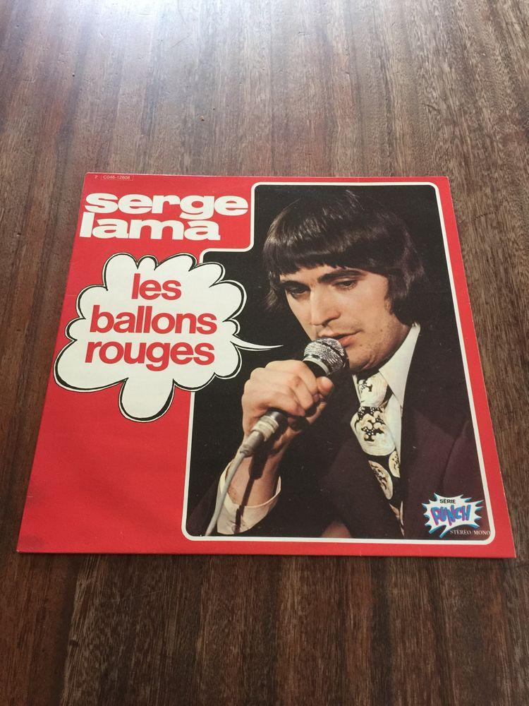 Vinyle 33 tours Serge Lama   Les ballons rouges 10 Saleilles (66)