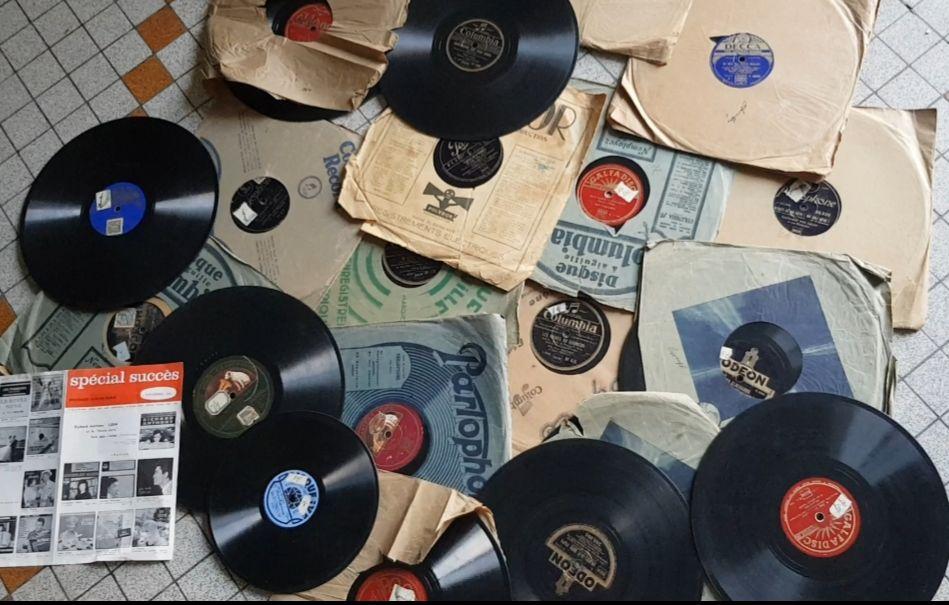 Lot Vinyles anciens.. 0 Castelnaudary (11)