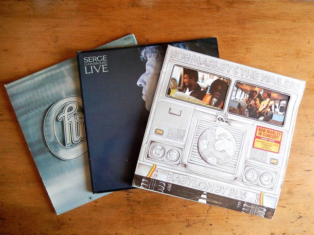 Vinyles 33 et 45 T des années 60, 70 et 80 3 Nice (06)