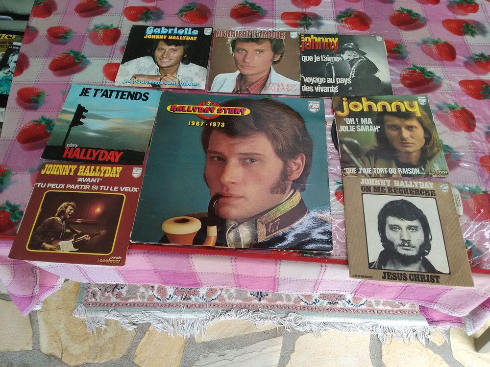 vinyles JOHNNY HALLYDAY 70 Saint-Georges-de-Mons (63)