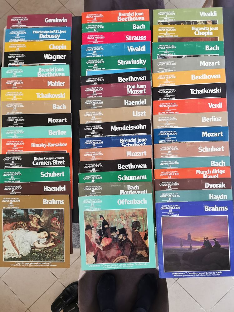 vinyles  musique classique 20 Saint-Leu-la-Forêt (95)