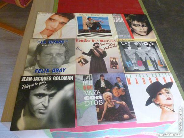 Vinyles 45 tours 1987 x 5 5 Thiais (94)