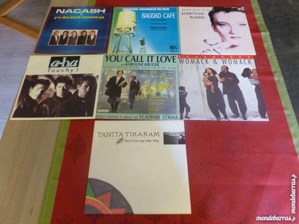 Vinyles 45 tours 1988 x 6 6 Thiais (94)