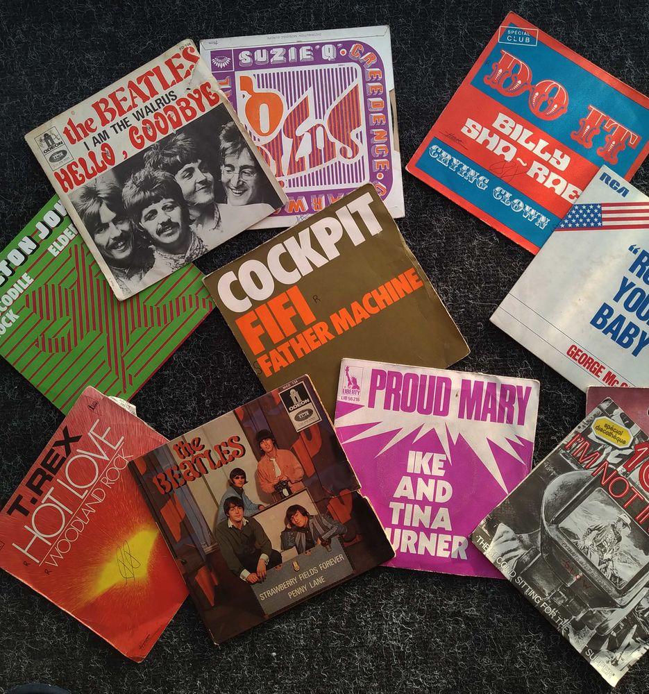 Vinyles 45 tours rares pour amateur 1 Belfort (90)