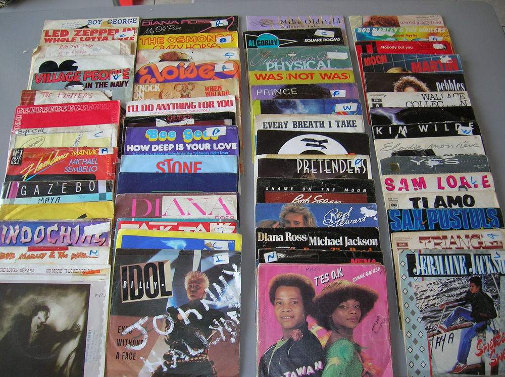 40  vinyles 33 tours+ 41 vinyles 45 tours tango accordéon 40 Reims (51)