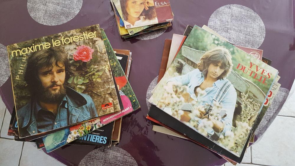 vinyles CD et vinyles