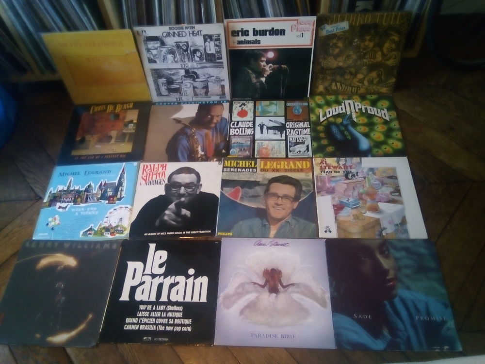 Vinyles en lot  0 Paris 10 (75)