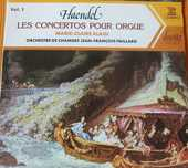 Vinyls  (2)  HAENDEL  Orgue  MC ALAIN  6 Lille (59)