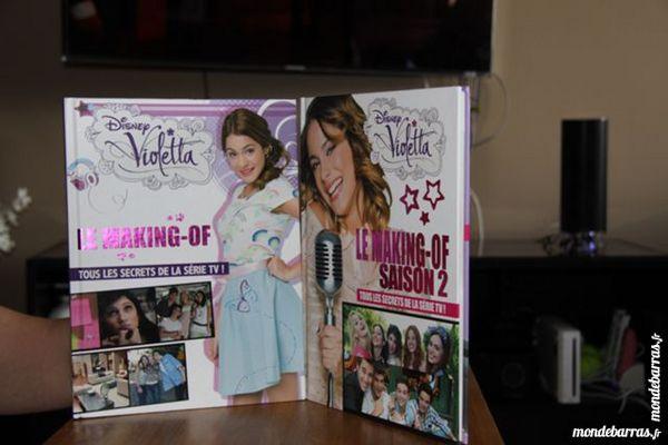 Violetta Disney Livre Making Of  Broché Saison 1&2 10 Franconville (95)