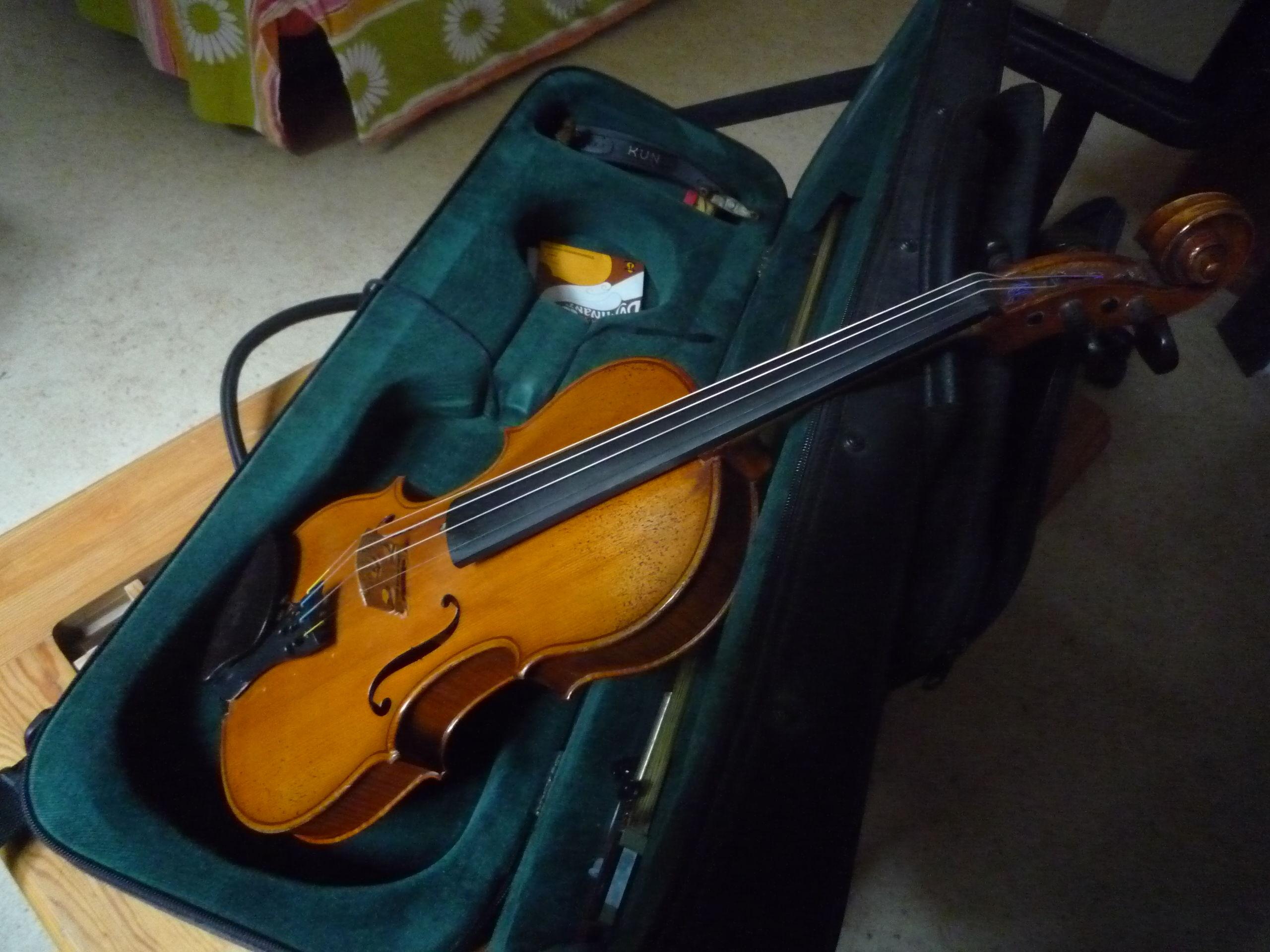 VIOLON 4/4 début 20e siècle Instruments de musique