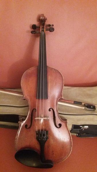 Violon hongrois 1914 Instruments de musique
