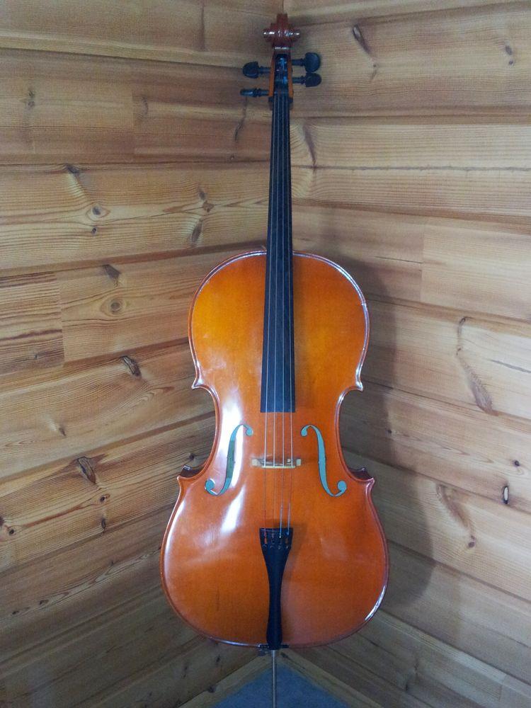 Violoncelle entier de fabrique allemand 1500 Thiergeville (76)