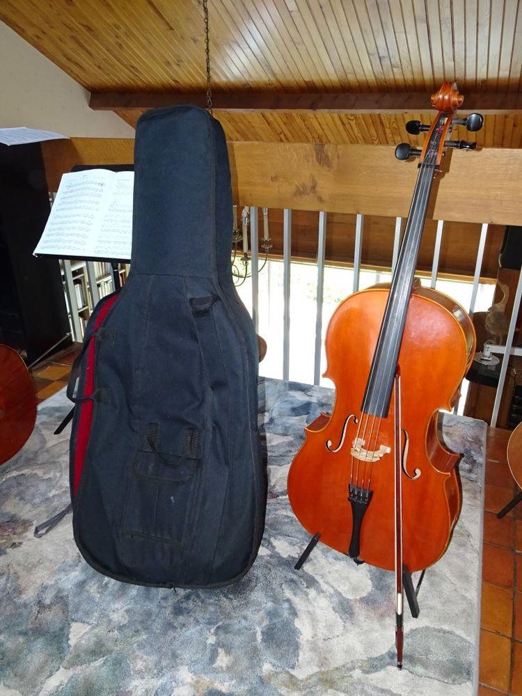 Violoncelle 1/2 en très bon état 700 Parmain (95)