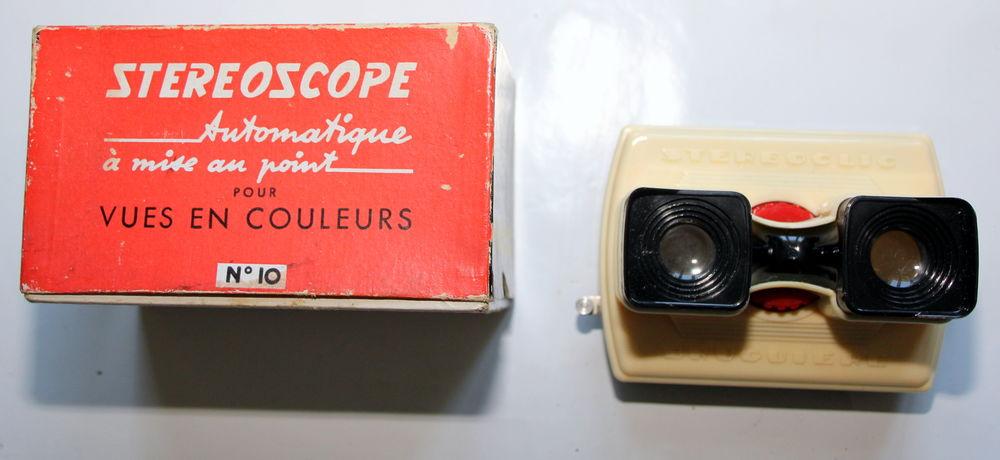 Visionneuse stéréoscopique STEREOCLIC BRUGUIERE 1960 35 Issy-les-Moulineaux (92)