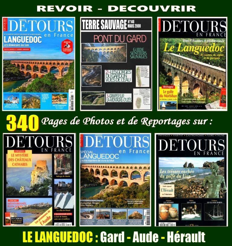 visiter LE LANGUEDOC - Hérault - Gard - AUDE 19 Lille (59)