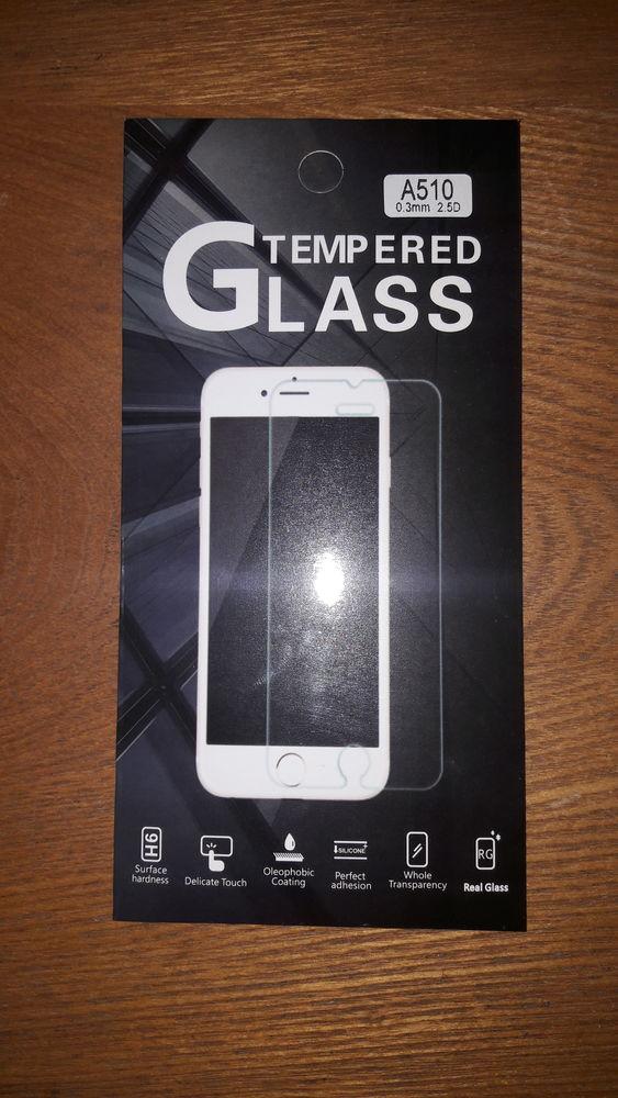 vitre telephone tempered Glass samsung A510 10 Saint-Ouen-d'Aunis (17)