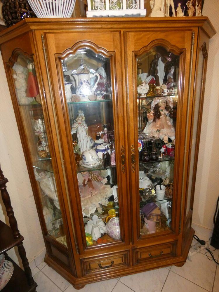 vitrine 2portes chene 400 Langueux (22)