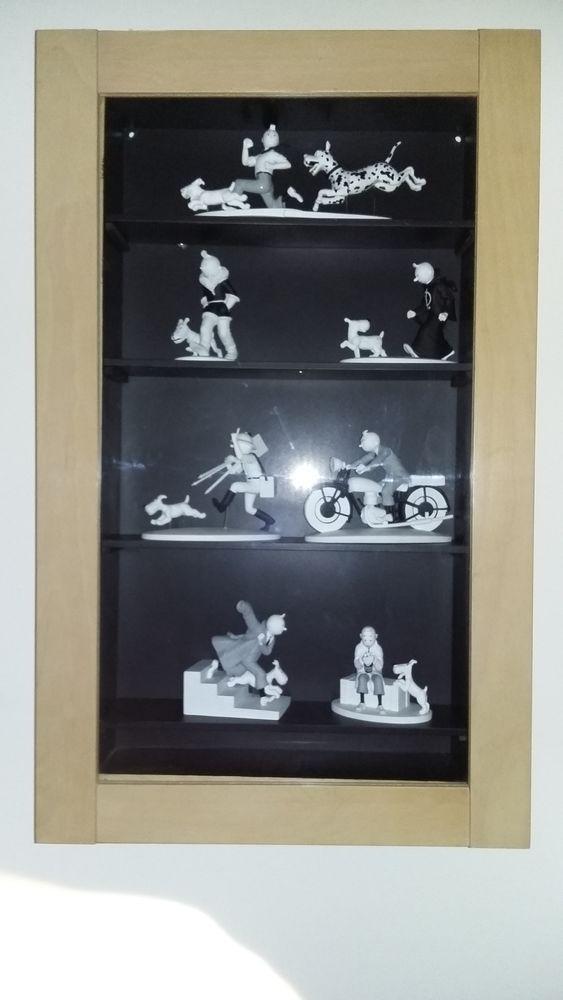 Vitrine avec figurine tintin hors serie  0 Ronchin (59)