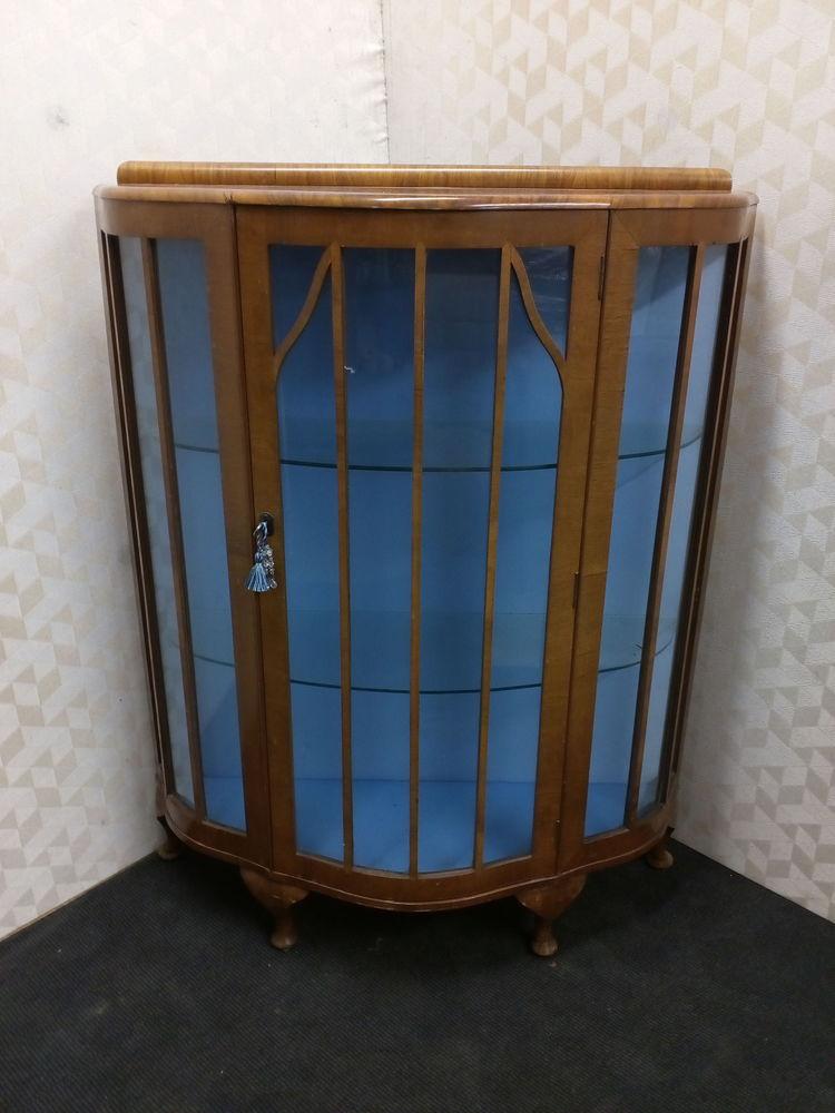Vitrine style Art Déco pieds chippendales 350 Toulouse (31)