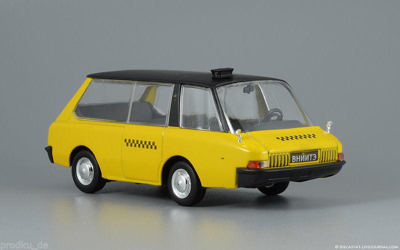 Vniite PT taxi prototype Russe 1/43 DeAgostini Russia Neuf 16 Guînes (62)