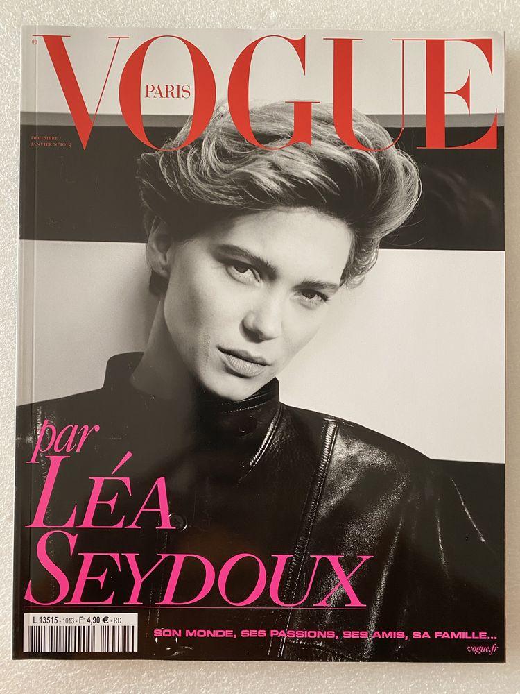 VOGUE n°1013 déc.2020-janv.2021  Léa Seydoux 10 Joué-lès-Tours (37)