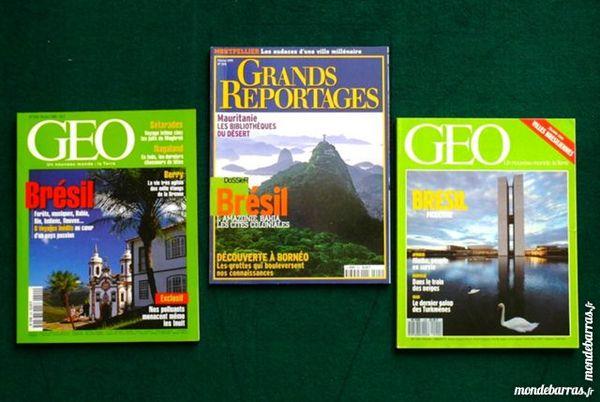 voici 3 revues sur LE BRESIL / prixportcompris 13 Laon (02)