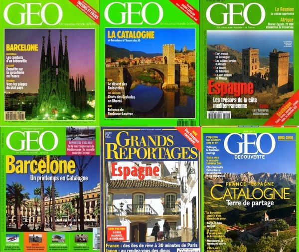 voici 6 revues sur LA CATALOGNE / les-livres-de-jac 18 Lille (59)