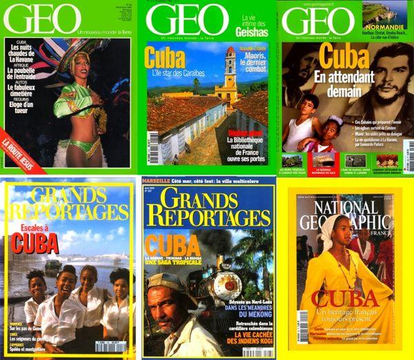Voici 6 revues sur CUBA / les-livres-de-jac 16 Laon (02)