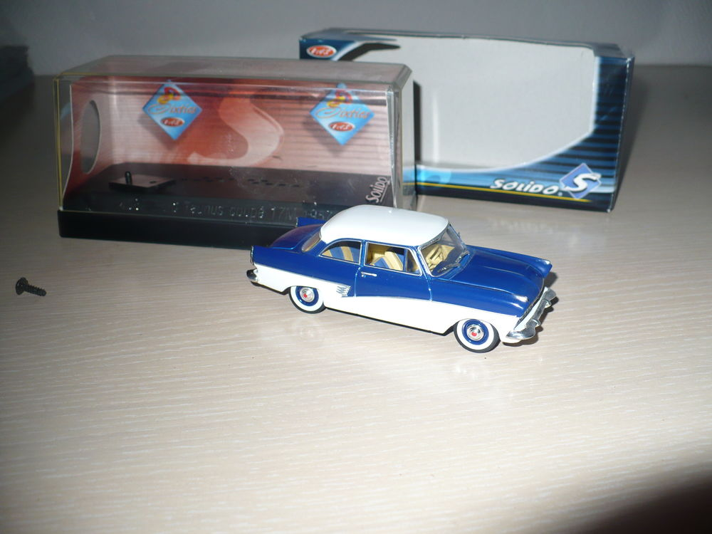 VOITURE FORD TAUNUS SOLIDO 1/43 6 Wervicq-Sud (59)