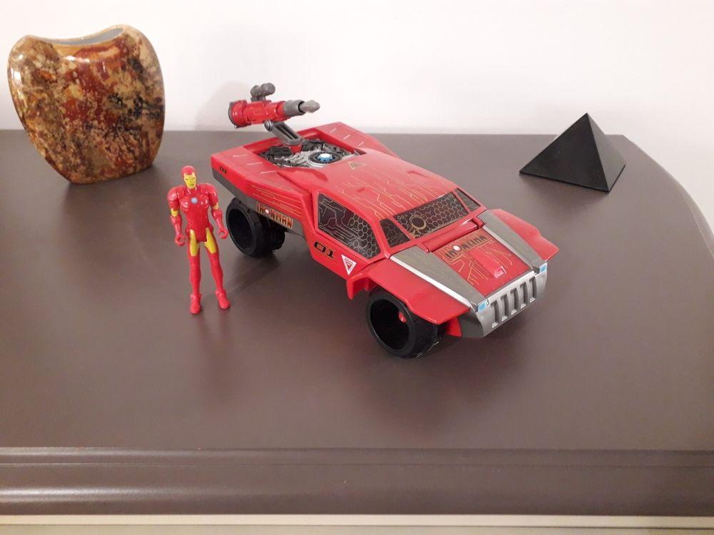 voiture Iron Man avec figurine et missile 15 Reims (51)