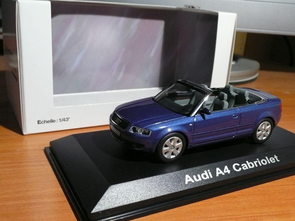 Voiture miniature 1/43 Audi A4 Cabriolet  20 Saint-Symphorien-d'Ozon (69)