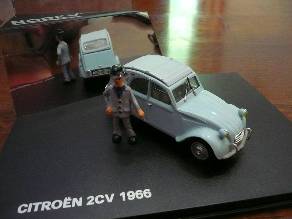 Voiture miniature 1/43 Citroen 2CV 1966 20 Saint-Symphorien-d'Ozon (69)