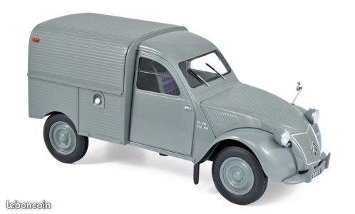 Voiture miniature Citroen 2cv Fourgonnette 30 Schiltigheim (67)