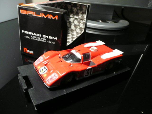 Voiture miniature 1:43 Ferrari 512 16 Saint-Symphorien-d'Ozon (69)