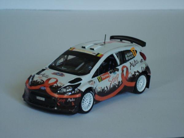 Voiture miniature Ford Fiesta S 2000 Rallye d' Ypres 2012 30 Marignane (13)
