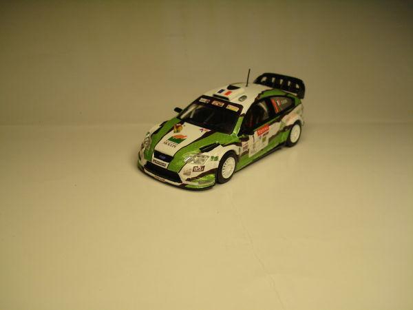Voiture miniature Ford Focus WRC Rallye du Limousin 2012 30 Marignane (13)