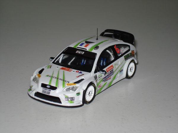 Voiture miniature Ford Focus wrc Rallye du Touquet 2012.  30 Marignane (13)