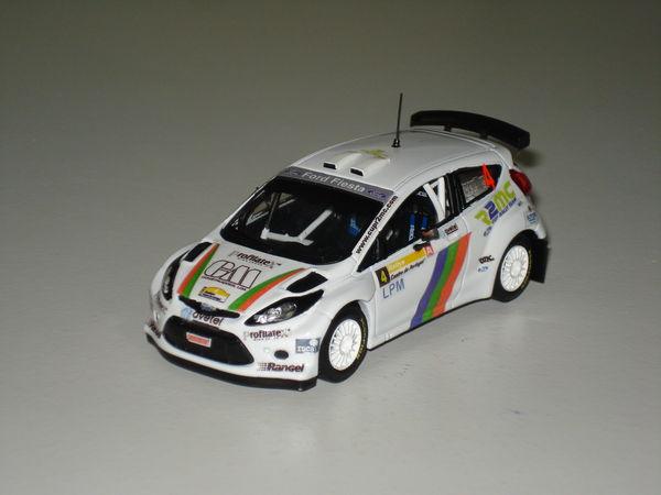 Voiture miniature Ford Fiesta S 2000 Rallye du Portugal 2010