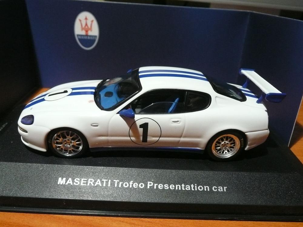 Voiture miniature 1/43 Maserati Troféo Présentation Car 20 Saint-Symphorien-d'Ozon (69)