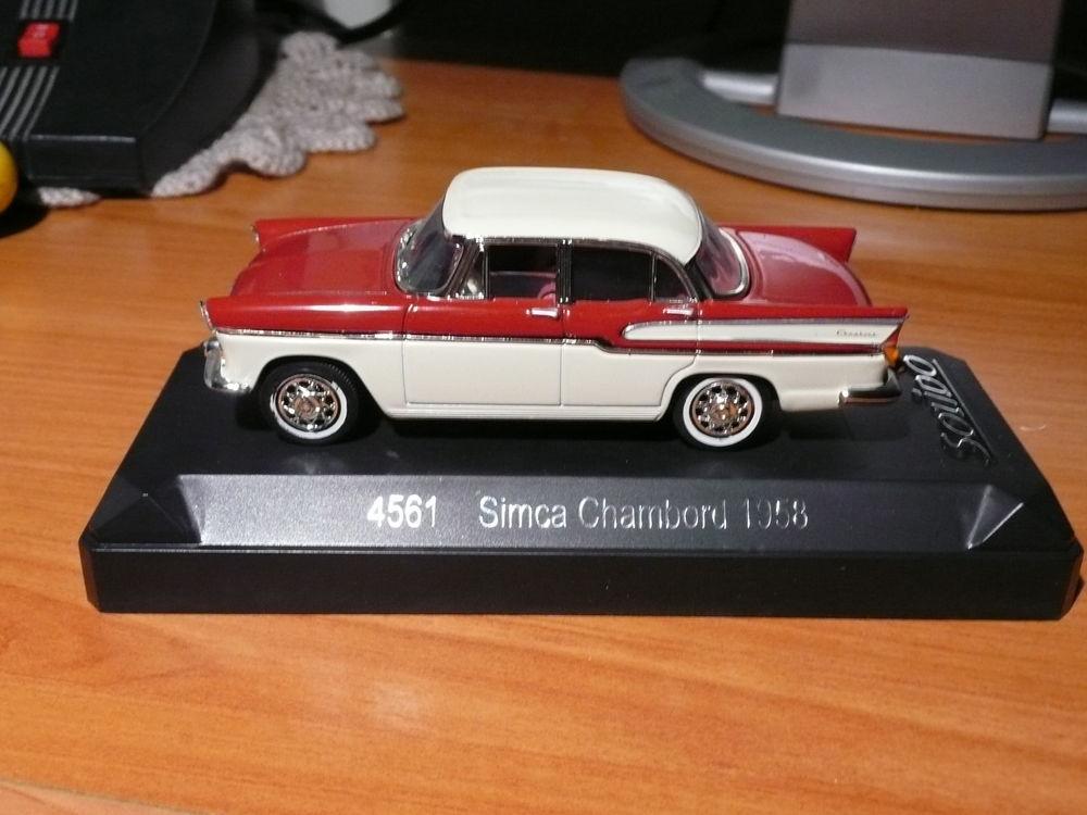 Voiture miniature 1/43 Simca Chambord 1958 15 Saint-Symphorien-d'Ozon (69)