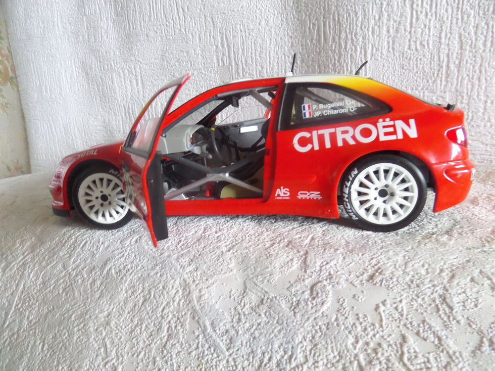 voiture rally CITROEN XSARA WRC 1/18èm 18 Lyon 8 (69)