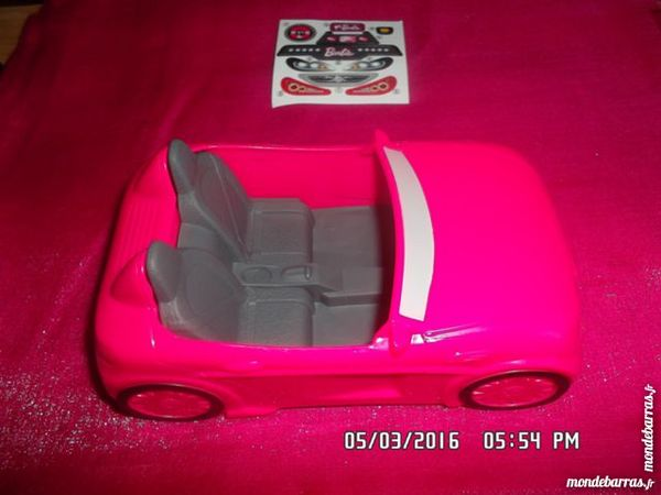 VOITURE ROSE BARBIE 1 Chambly (60)