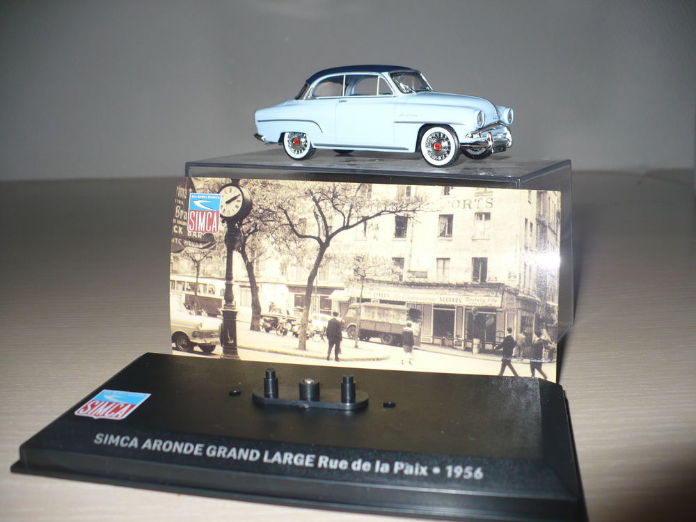 VOITURE SIMCA ARONDE GRAND LARGE 1/43 6 Wervicq-Sud (59)
