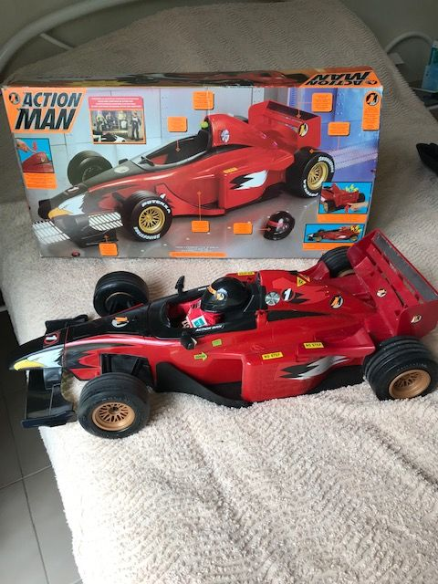 Voitures action man 50 Marcoussis (91)