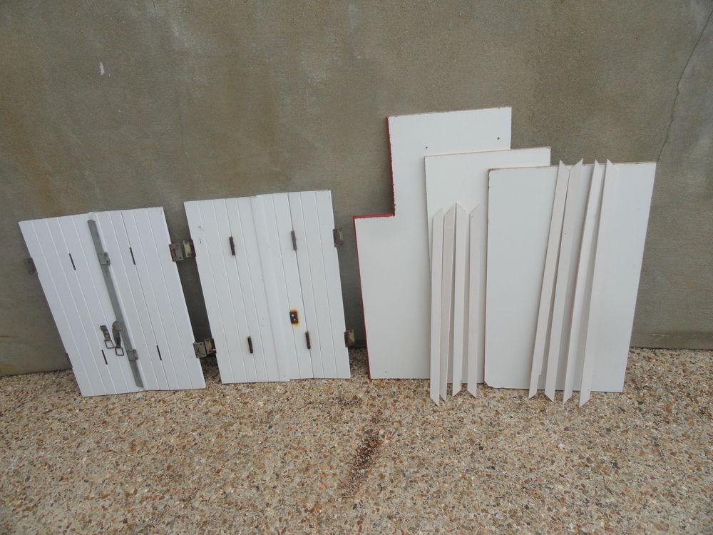 Volets en PVC + planches 23 Sablé-sur-Sarthe (72)