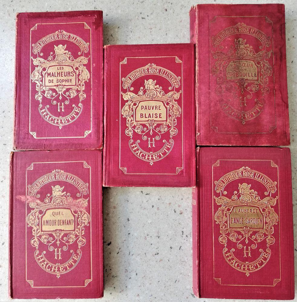 Lot de 5 Volumes de la Bibliothèque Rose Illustrée 20 Amiens (80)